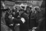 Дружинники с барабанами. Ботошани, Румыния. Апрель 1944 года.