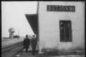 Железнодорожный вокзал. Ботошани, Румыния. Апрель 1944 года.