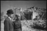 Примар (мэр) Ботошани Кароль Артбергер и советский офицер. Румыния. Апрель 1944 года.