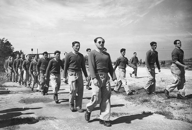 Члены «Хаганы» в 1948 году