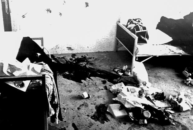 Номер израильского тяжелоатлета Моше Романо, убитого в теракте на Олимпийских играх в Мюнхене