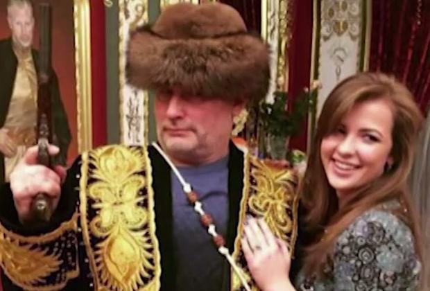 Владимир Барданов с дочерью Анастасией