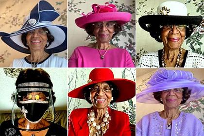 82-летняя женщина стильно наряжалась на церковные службы и прославилась в сети