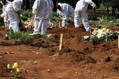 Трупы начали выкапывать в Бразилии ради мест на кладбищах