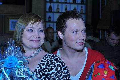 Светлана Пермякова с отцом своей дочери Максимом Скрябиным