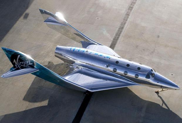 Прототип туристического космического корабля Virgin Galactic