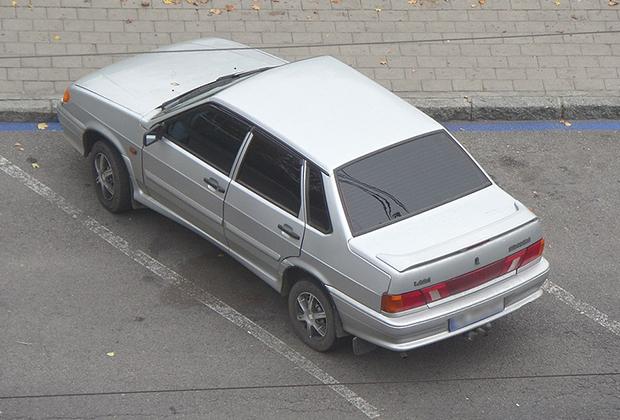 ВАЗ-2115 — на такой машине перемещался киллер, стрелявший в Пола Хлебникова
