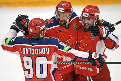 ЦСКА обыграл СКА в первом матче полуфинала Кубка Гагарина