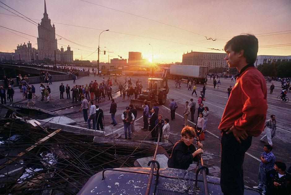 Августовский путч, 1991 год