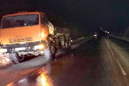 Пешехода на российской трассе сбили два раза за один вечер