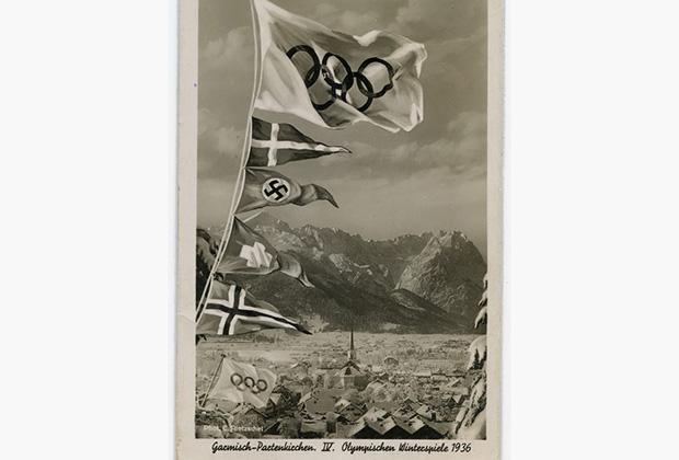 Зимние Олимпийские игры 1936 года прошли в Баварских Альпах в двух  соседних деревнях Гармиш-Партенкирхен