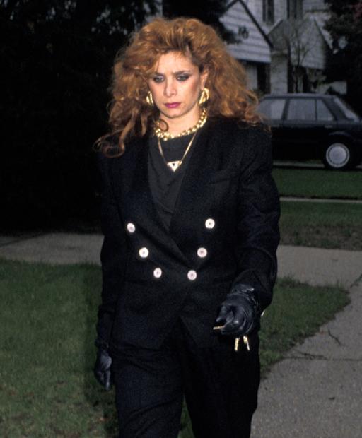 Образ Виктории Готти, дочери босса мафии Джона Готти, преступного клана Гамбино, в 1990 году