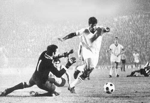 Матч между «Миланом» и «Эстудиантес»