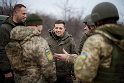 Зеленский собрался на Донбасс