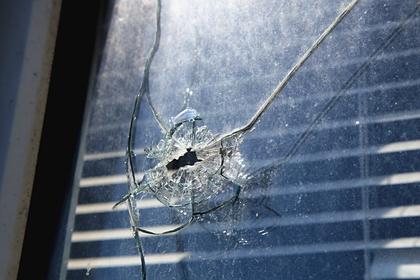 Последствие обстрела в поселке Александровка Донецкой области.