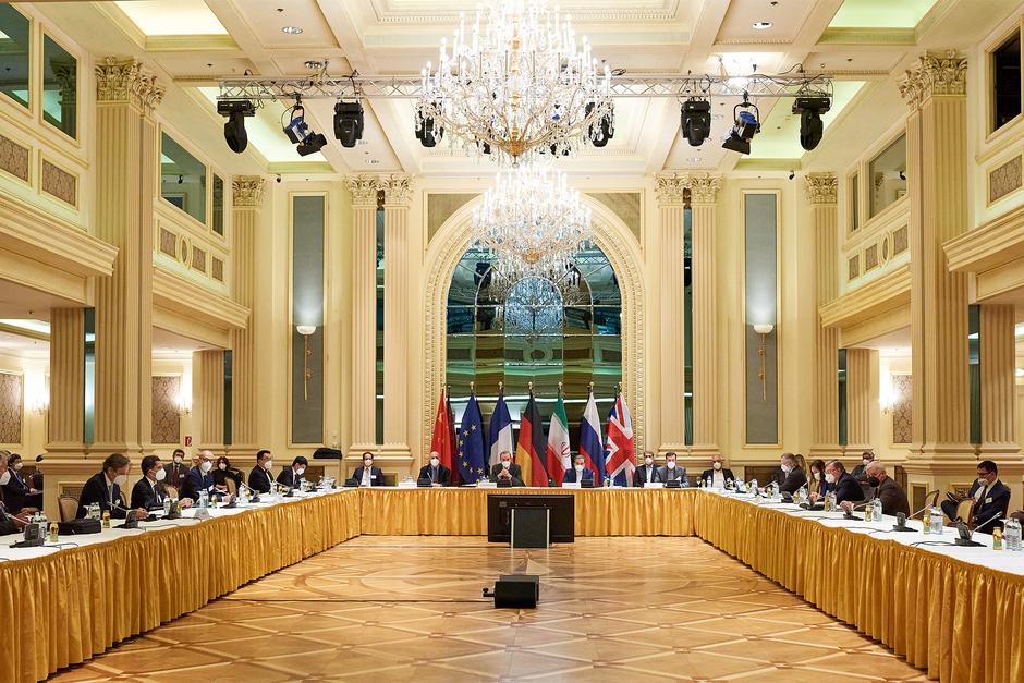 Первый день заседания совместной комиссии членов СВПД в Вене