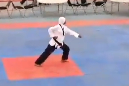 Девушка-боец победила на турнире на восьмом месяце беременности