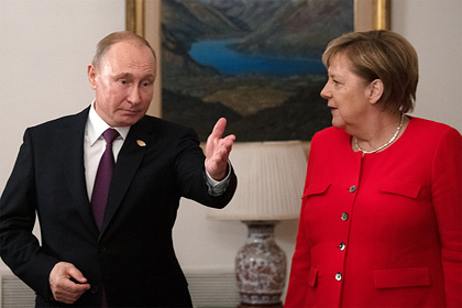 Раскрыты детали требований Меркель к Путину по ситуации в Донбассе
