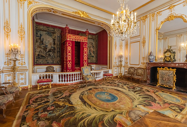 Парадный зал замка Шамбор