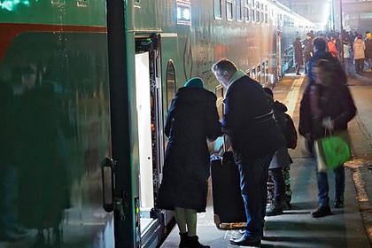 Москвичи массово захотели уехать на поезде в пять городов России