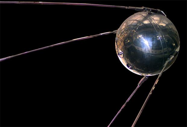 Макет космического аппарата «Спутник-1»