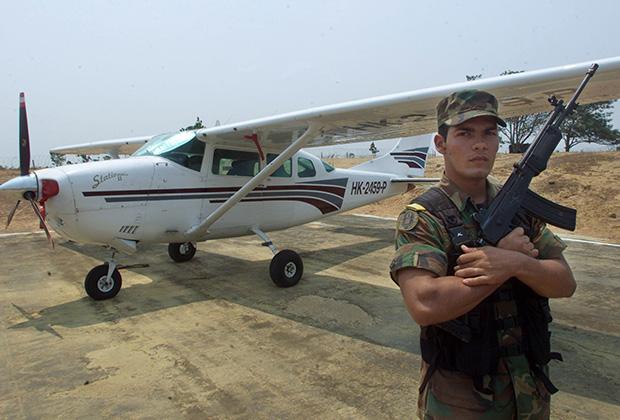 Cessna колумбийского наркокартеля