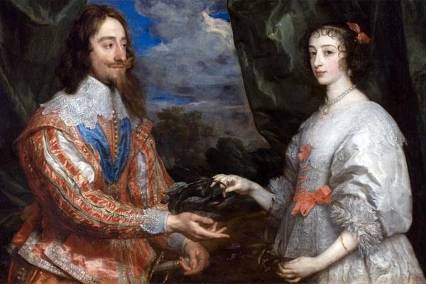 Карл I и Генриетта Мария Французская