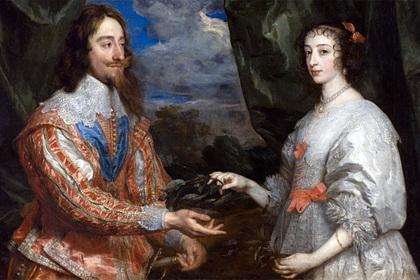 Пьяные вечеринки, скандалы и месть: как английский король Карл I ссорился со своей женой