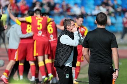 «Краснодар» проиграл «Арсеналу» в первом матче Гончаренко