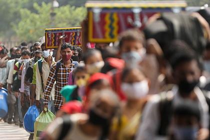 Индия вернулась на второе место в мире по числу заболевших коронавирусом