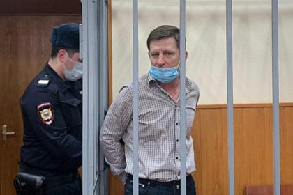 Сергея Фургала перевели на диету с королевскими креветками по 995 рублей