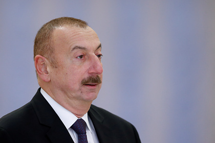 Алиев заявил о разговоре с Путиным про обломки «Искандеров» в Карабахе