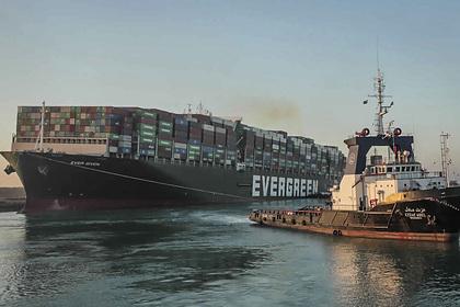 Заблокировавшее Суэцкий канал судно арестовали и потребовали «выкуп»