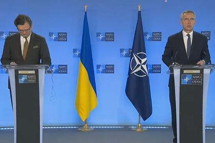 Глава НАТО встал на сторону Украины в вопросе Донбасса