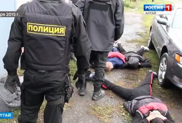 Задержание участников банды Олега Пигарева