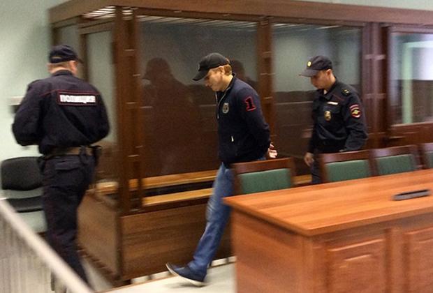 Вор в законе Али Гейдаров (Альберт Рыжий) в зале суда