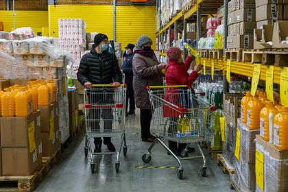 В России выросла популярность магазинов для бедных