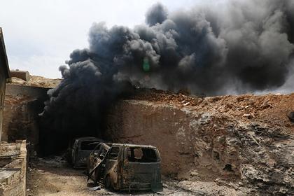 ВКС России атаковали террористов из «спящих ячеек» ИГ в Сирии