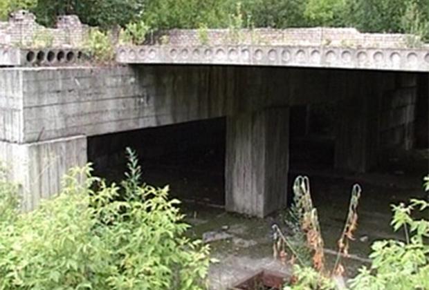 Заброшенный фундамент здания РОВД в Череповце, где нашли тела жертв даниловского маньяка
