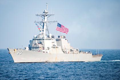 США объяснили разворот эсминцев от Черного моря