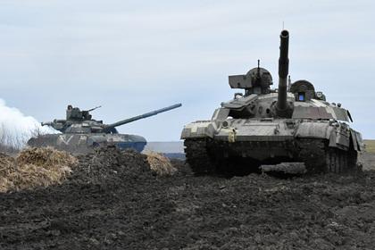 Украина анонсировала антитеррористические учения на границе с Россией