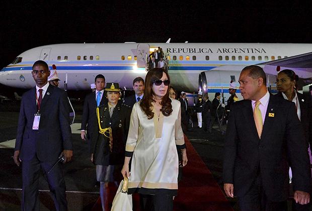 Президент Аргентины Кристина Киршнер в Панама-Сити на VII саммите Америк 10 апреля 2015 года