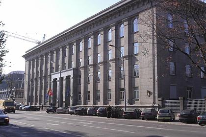 Российского посла вызвали в МИД Литвы