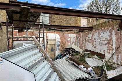 В Лондоне квартиру без крыши захотели продать за сотни тысяч фунтов