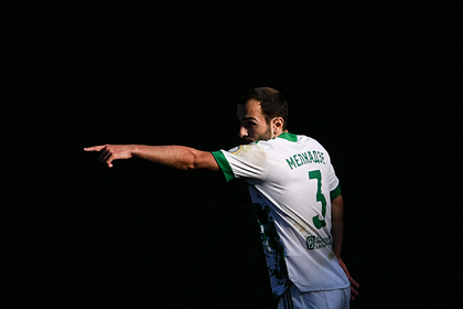 Футболист РПЛ забил гол ударом через себя