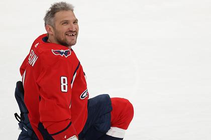 Появилось видео 729-й шайбы Овечкина в НХЛ