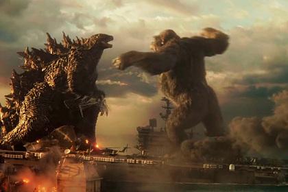 «Годзилла против Конга» стал самым кассовым фильмом за пандемию