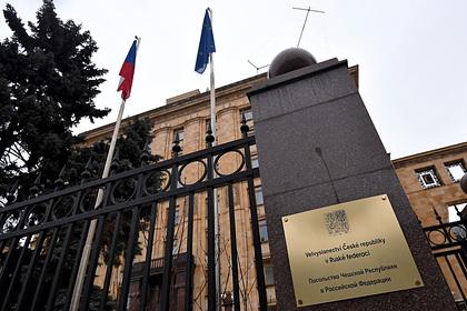 Чехия сочла сильной реакцию России на высылку дипломатов