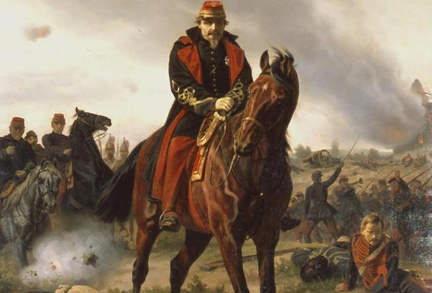 Вильгельм Кампхаузен «Наполеон III под Седаном»
