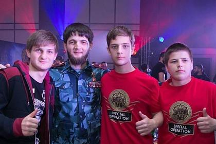 В сети высмеяли сына Кадырова после победы в боксерском поединке